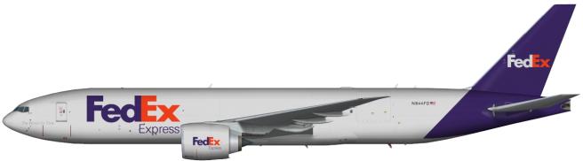FDX N844FD