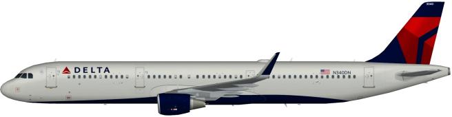 DAL N340DN