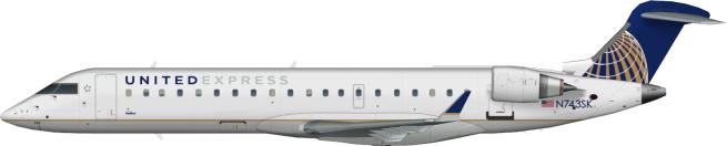 SKW N743SK