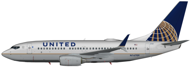 UAL N16709