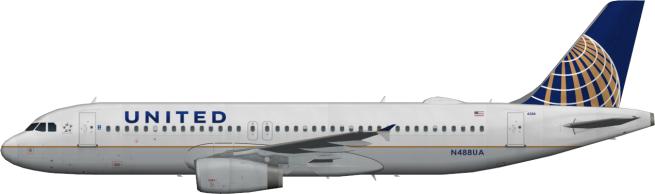 UAL N488UA