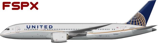 UAL N29907