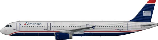 AAL N578UW