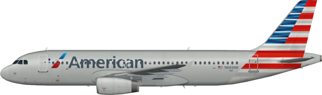AAL N663AW