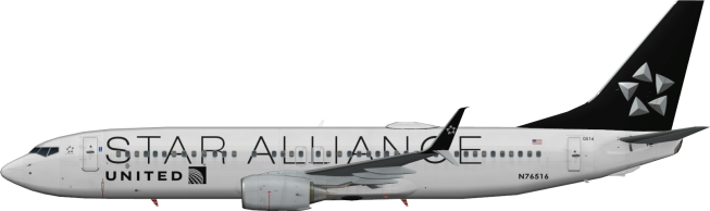 UAL N76516