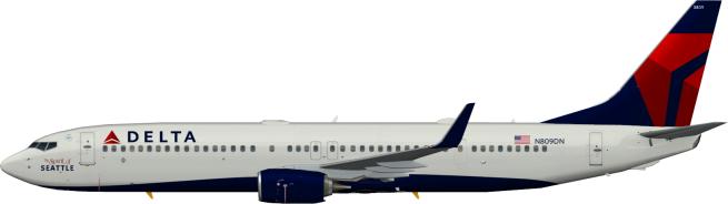 DAL N809DN