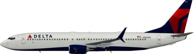 DAL N832DN