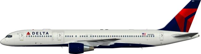 DAL N673DL