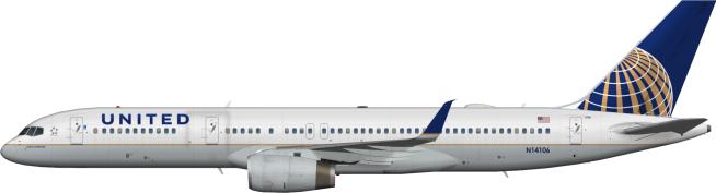 UAL N14106