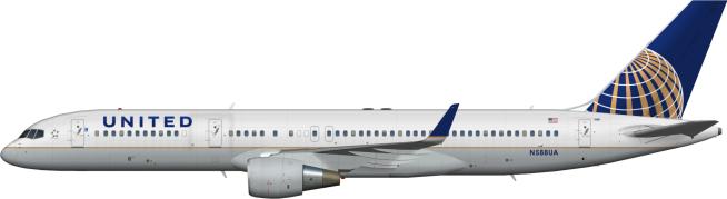 UAL N588UA