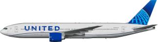 UAL N77006